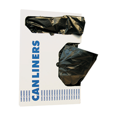 Boardwalk Linear Low-Density Can Liners - 200 Bags per Case BWK3